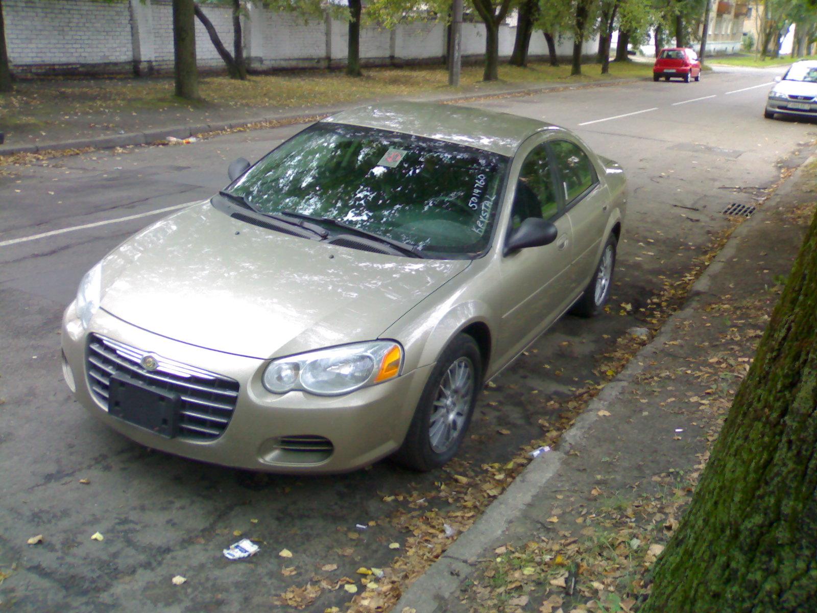 крайслер 2004 года фото